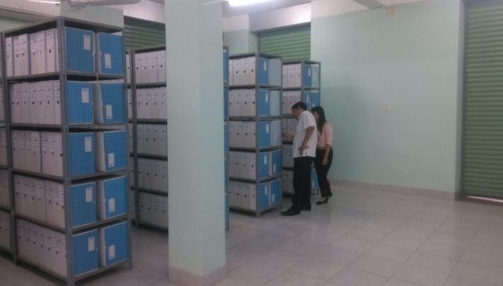 Cách sắp xếp kho lưu hồ sơ