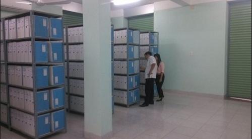 Hệ thống kho lưu hồ sơ