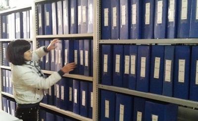 Lưu trữ kho hồ sơ