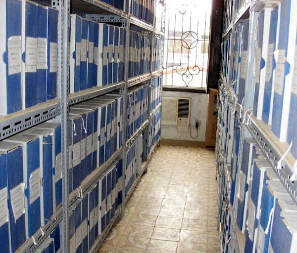 Kho lưu trữ thông thoáng sạch bụi