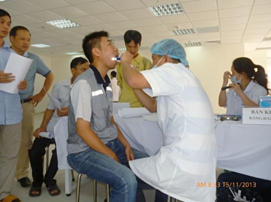 Khám sức khỏe tại Trạm y tế