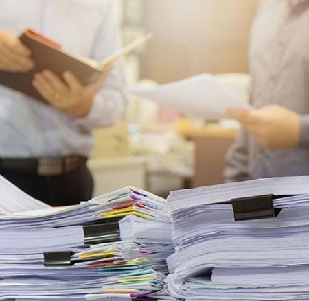 Lưu giữ giấy tờ