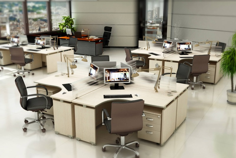 cách bố trí bàn làm việc theo phong thủy 2
