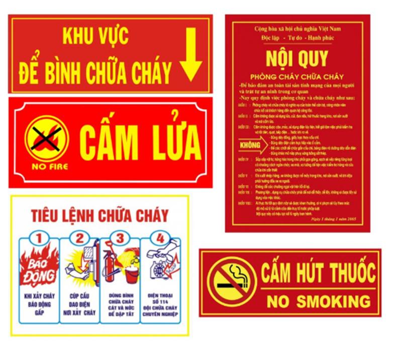 Quy định về PCCC cho kho hàng và nhà xưởng tại Việt Nam