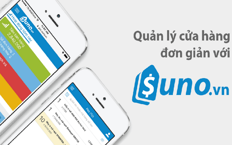 Phần mềm quản lý kho hàng Suno