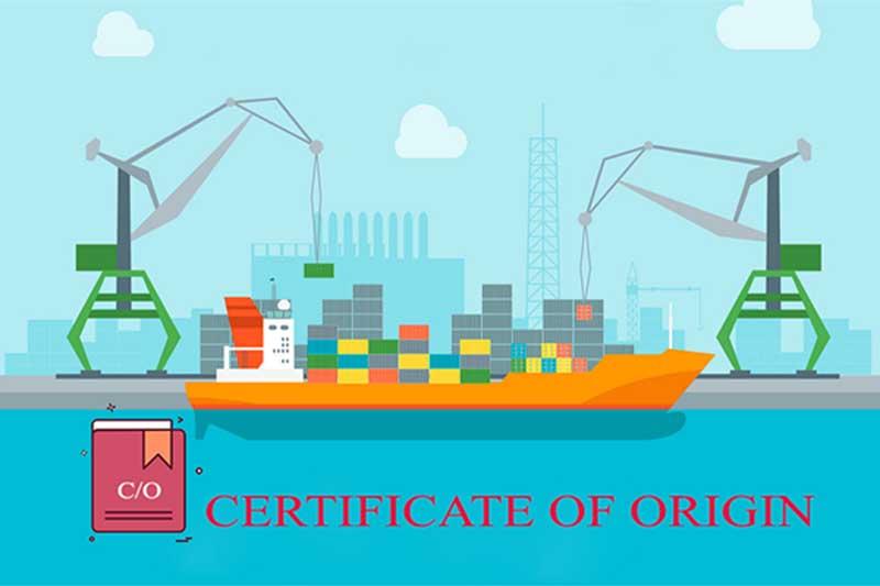 Khái niệm về giấy chứng nhận xuất xứ hàng hóa