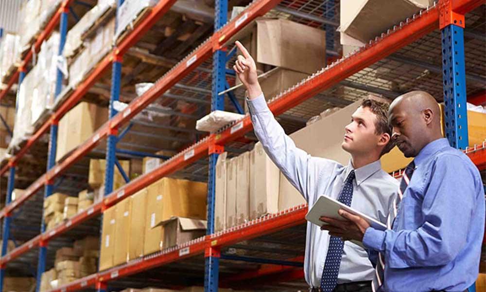 Đánh dấu vị trí của hàng hóa trong kho