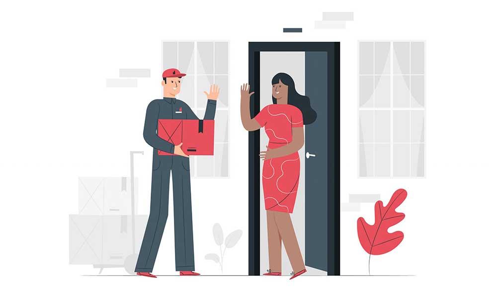 Cách sử dụng dịch vụ Door to Door dễ dàng nhất