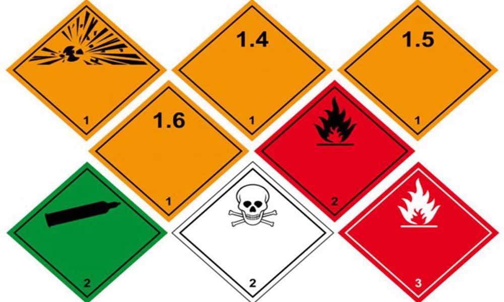 Danh sách những chất được liệt kê là Dangerous Goods