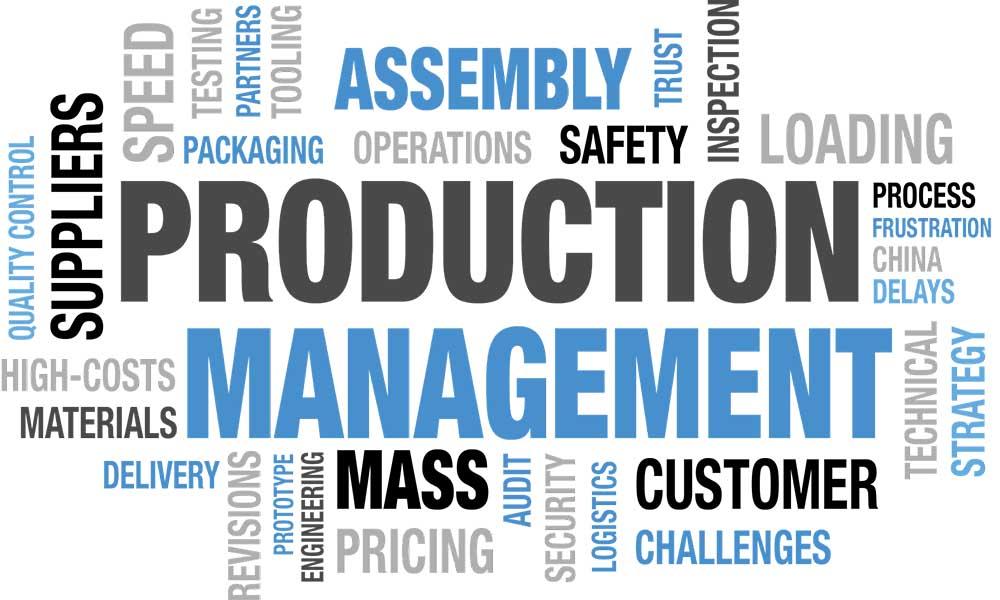 Khái niệm về quản lý sản xuất